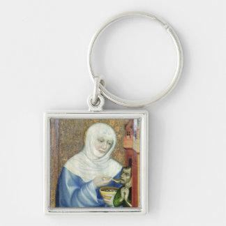 St. Elizabeth of Hungary Key Ring