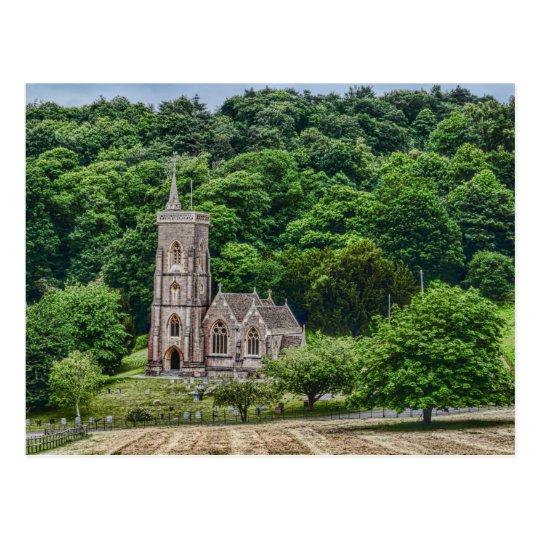 St Etheldreda or St Audries, West Quantoxhead Postcard