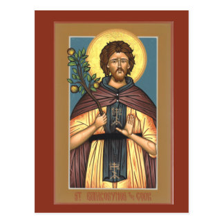 St. Euphrosynos the Cook Prayer Card