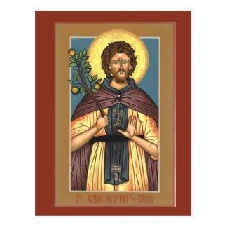 St. Euphrosynos the Cook Prayer Card Postcard