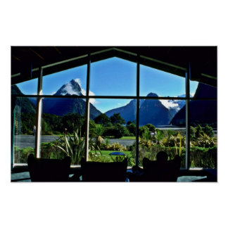 St Faith s Anglican Church Window Rotorua Poster