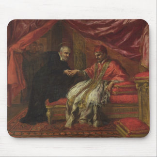St. Filippo Neri Curing Pope Clemente VIII Mouse Pad