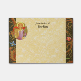 """St. Florian of Lorch (PM 03) 4""""x3"""" Post-it® Notes"""