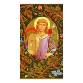 St. Florian of Lorch (PM 03) Full Bleed Pack Of Standard Business Cards