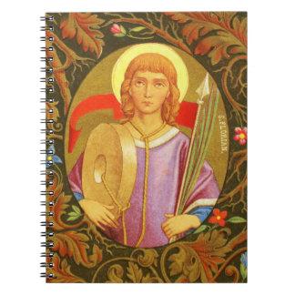 St. Florian of Lorch (PM 03) Spiral Notebooks
