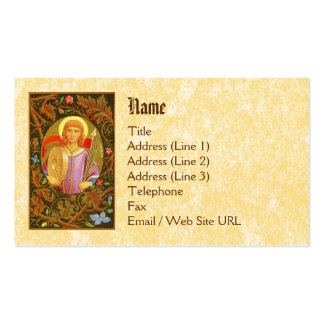 St. Florian of Lorch (PM 03) Standard Pack Of Standard Business Cards