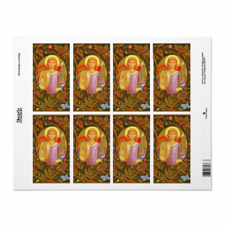 St. Florian of Lorch (PM 03) Sticker Label #2 Shipping Label