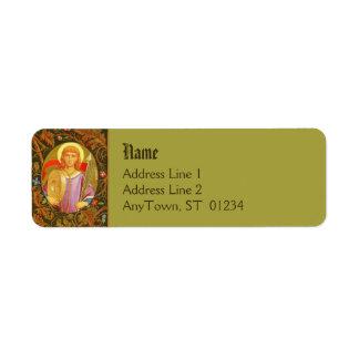 St. Florian (PM 03) FB Return Address Label #2a