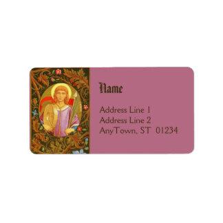 St. Florian (PM 03) Full Bled Add Label #2b Address Label