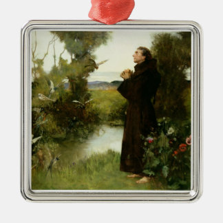 St. Francis, 1898 (oil on canvas) Christmas Ornament