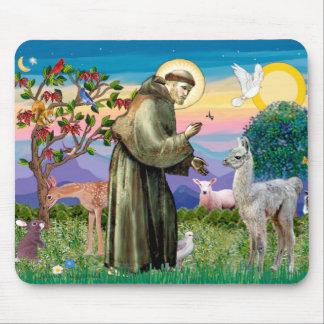 St Francis and Llama Baby Mouse Mat