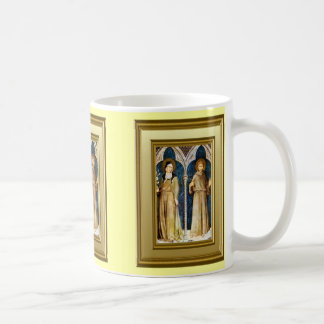 St Francis and St Clare, Assisi Coffee Mug
