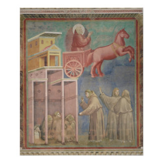 St. Francis Appears to His Companions Poster