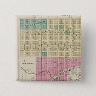 St. Francis City, Kansas 15 Cm Square Badge
