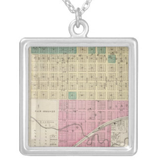 St. Francis City, Kansas Silver Plated Necklace