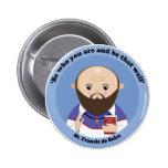 St. Francis de Sales Button