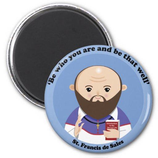 St. Francis de Sales Magnets