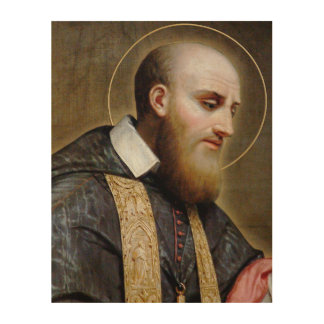 St. Francis de Sales Wood Canvases