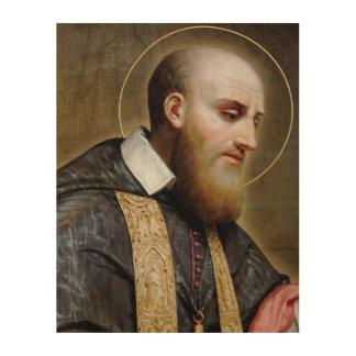 St. Francis de Sales Wood Canvases