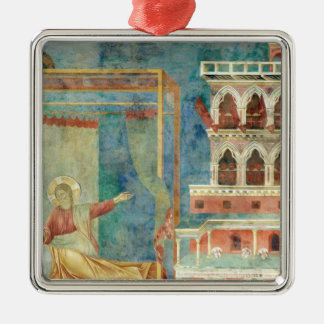 St. Francis Dreams of a Palace full of Weapons Christmas Ornament