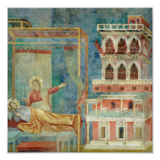 St. Francis Dreams of a Palace full of Weapons Poster