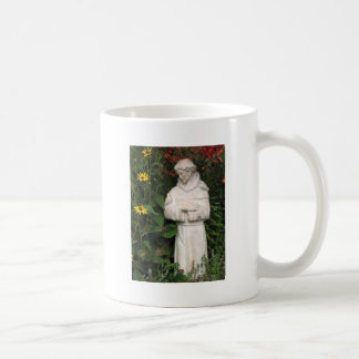 St. Francis Garden, coffee cup, key chain, hat etc Basic White Mug