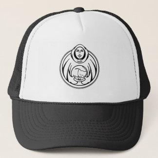 St Francis Hospice black logo Trucker Hat