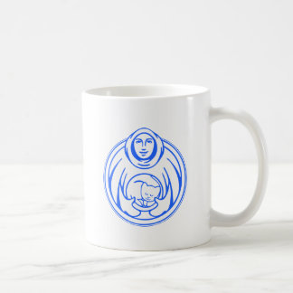 St Francis Hospice for cats blue logo Coffee Mug