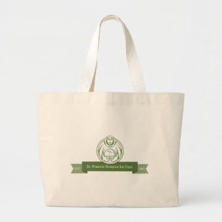 st. francis hospice for cats products large tote bag