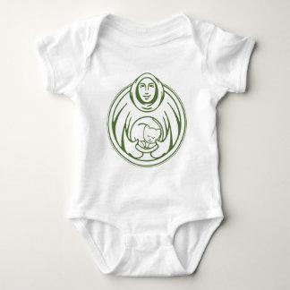 St. Francis Hospice Logo Baby Bodysuit