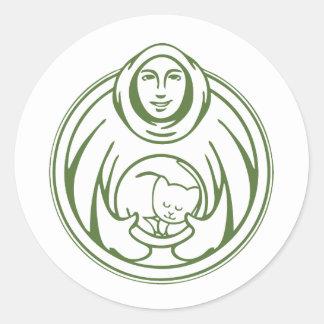 St. Francis Hospice Logo Classic Round Sticker