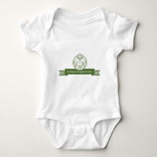 St Francis logo green Baby Bodysuit