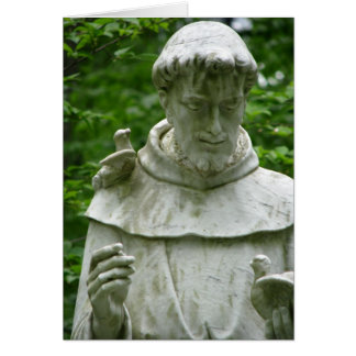 St. Francis Note Card