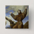 St. Francis of Assisi  1642 15 Cm Square Badge