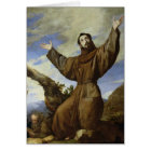 St. Francis of Assisi  1642 Card