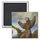 St. Francis of Assisi  1642 Magnet