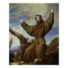 St. Francis of Assisi  1642 Poster