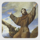 St. Francis of Assisi  1642 Square Sticker