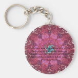 St. Francis of Assisi animal rights quote Key Chain