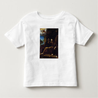 St. Francis of Assisi Consoled by an Angel Toddler T-Shirt