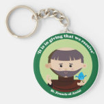 St. Francis of Assisi Key Chain