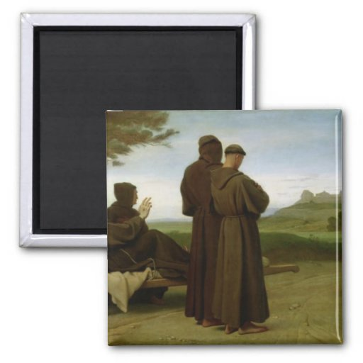 St. Francis of Assisi Fridge Magnets