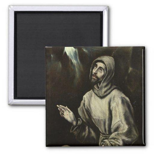 St. Francis of Assisi Fridge Magnet