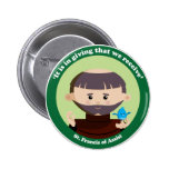 St. Francis of Assisi Pinback Buttons