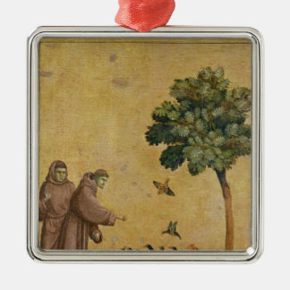 St. Francis of Assisi preaching to the birds Christmas Ornament