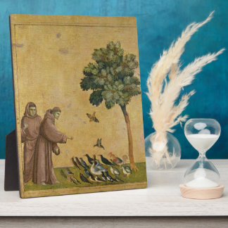 St. Francis of Assisi preaching to the birds Display Plaques