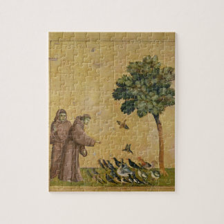 St. Francis of Assisi preaching to the birds Jigsaw Puzzle