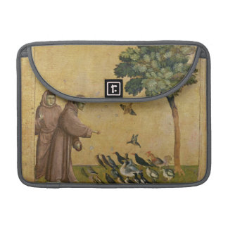 St. Francis of Assisi preaching to the birds Sleeve For MacBook Pro