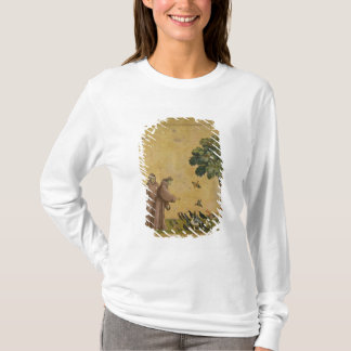 St. Francis of Assisi preaching to the birds T-Shirt