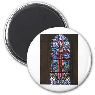 St Francis of Assisi stained glass Magnet
